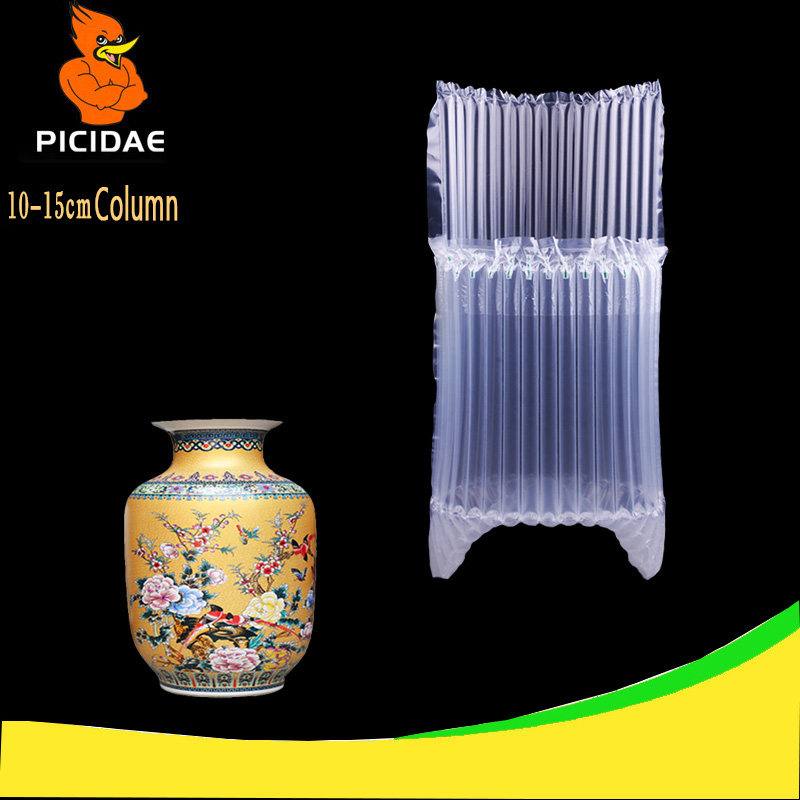 10-15 Column Mailer Oil Potted Fruit Glass Bottle Fragile Liquor Large Packaging Bag Cushion Inflatable Balloon Protection Air