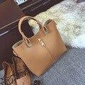 Women Messenger Bags PU Crossbody Large Tote Bag Solid Clutch European and American Style Bolsa Feminina Set Purses and Handbags