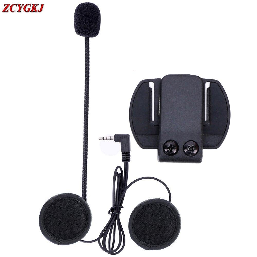 <font><b>1</b></font> pcs/lot, V6 Accessories Earphone Speaker &#038; Clip Bracket only Suit for V6 <font><b>V4</b></font> V2-500C <font><b>BT</b></font> Interphone 3.5mm Jack Plug