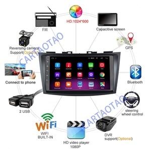 "Image 2 - 9"" Android 8.1 GO Car DVD Player for Suzuki Swift 2011 2012 2013 2014 2015 Car Radio GPS Navigation WiFi Player 2din"