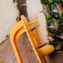 Регулируемый любой размер ананаса Овощечистка режущий инструмент креативный Фруктовый нож для чистки ананаса семян гаджет для удаления резак кухонные инструменты для снятия кожуры