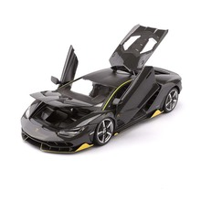 1:18 escala diecast LP770 4 modelo de carro esportivo, liga simulada, carro, brinquedos, modelo com controle de volante, volante dianteiro