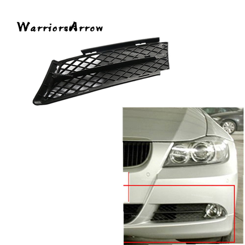 Tow Hook Eye Hole Cover Plug Front Bumper For BMW 3 Series E90 E91 09-12 Black