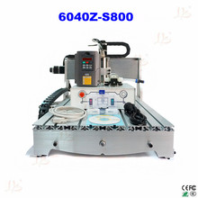 110/220v 3 axis cnc machine 6040 800w cnc spindle metal caving machine