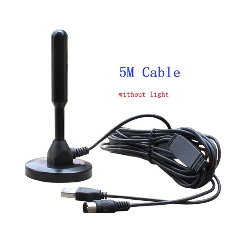 Antenne de télévision intérieure HD numérique DTV Fox DVB-T CMMB DTMB DVB-T2 récepteur de Signal numérique VHF UHF ISDB ATSC avec Tuner de télévision USB