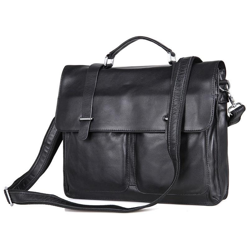 Cow Leather Men Business Handbag Fashion Office Briefcase Flap Hasp Shoulder Messenger Bag PR097100 segal business writing using word processing ibm wordstar edition pr only