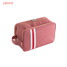 New Cosmetic Bag Travel Makeup Men Women Leisure Fashion Organizer Case Waterproofing Wash Beauty Suit 35