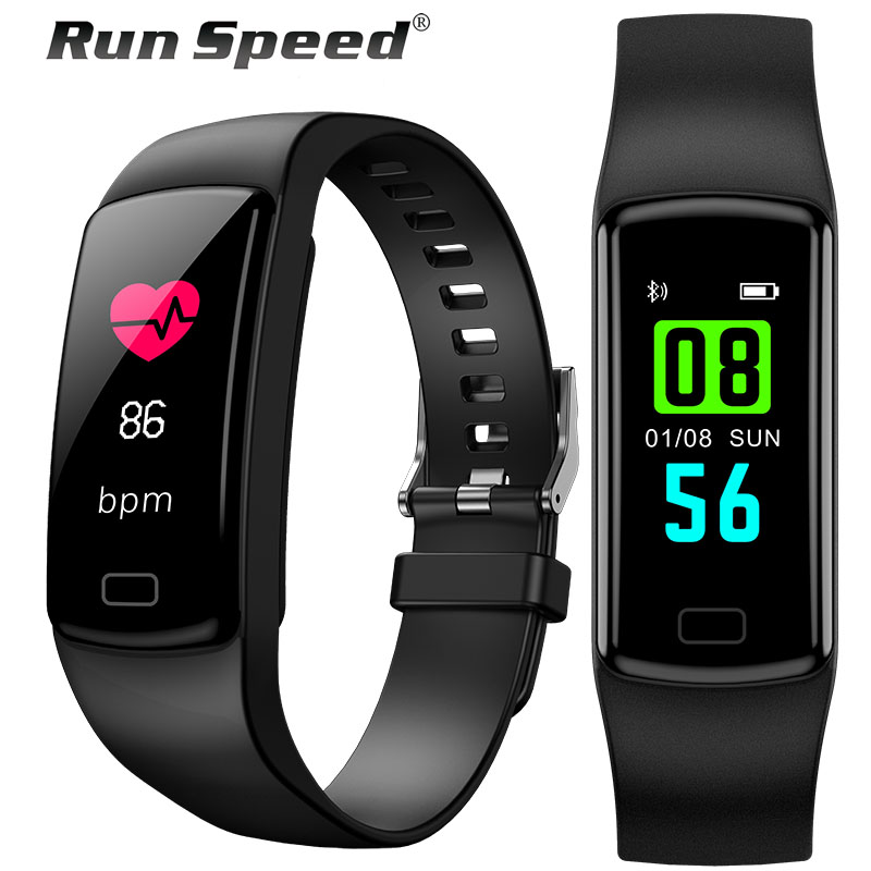 Smart Fitness Bracelet IP67 Waterproof Smart Band Blood Pressure Heart Rate Monitor Activity Tracker Pedometer Wristband image