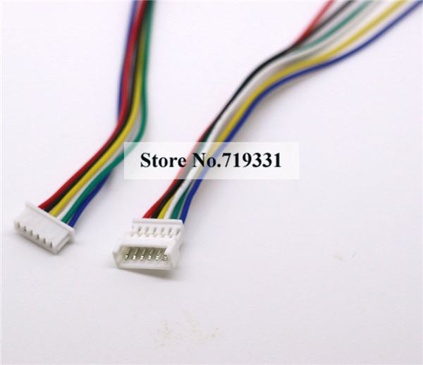 20Ssets Micro JST 1.25 6 Pin Male&Female Connector plug 150mm Wires ...