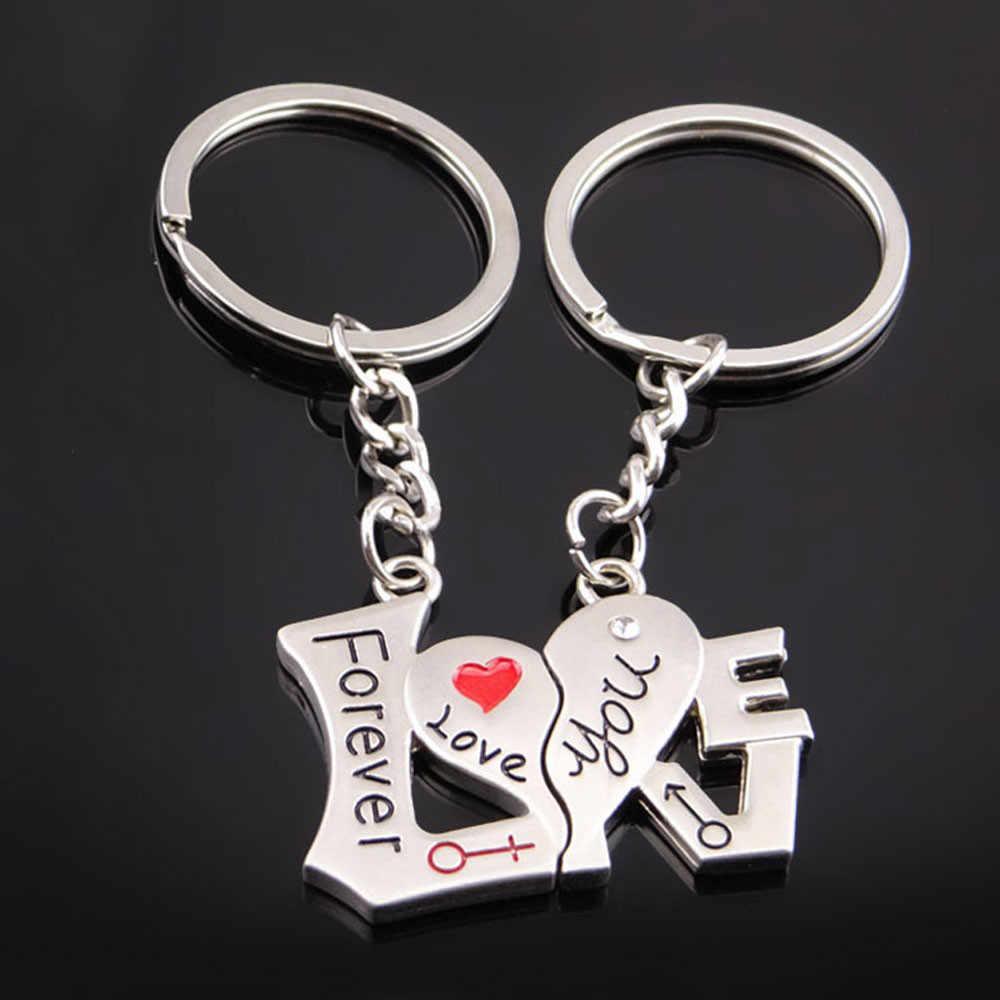 Креативный парный Брелок Подарочная кружка любовь брелок для любимая цепочка для ключей кольцо держатель лучшие друзья llaveros оптом