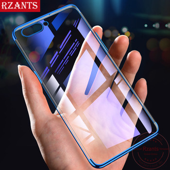 Rzants Phone Case For OPPO A3s Anti-Knock 3 in 1 Electroplating TPU Back Business Transparent Anti-Scratch Cover For OPPO A3s lukmall iphone case