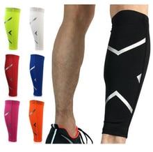 1 Pair Basketball Football Leg Shin Guards Soccer Protective Calf Sleeves Cycling Fitness calcetines Running