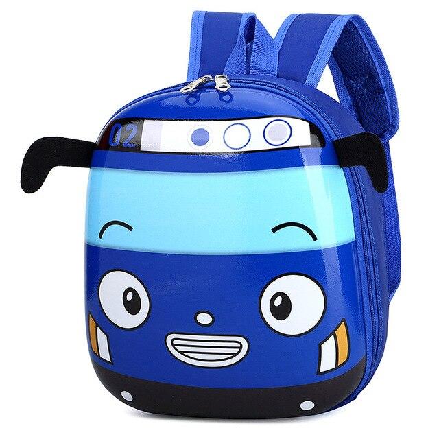 Cute Bus School Bag Backpack for Kids Children in 4 Colors 5