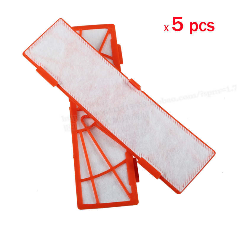 5 pcs/lot Replacement filter for neato botvac 85 70 70e 80 series Vacuum Cleaners neato botvac Filter Parts Accessaries 4pcs hepa filter for neato botvac 70e 75 80 85 series robotic vacuum cleaners robot high quality