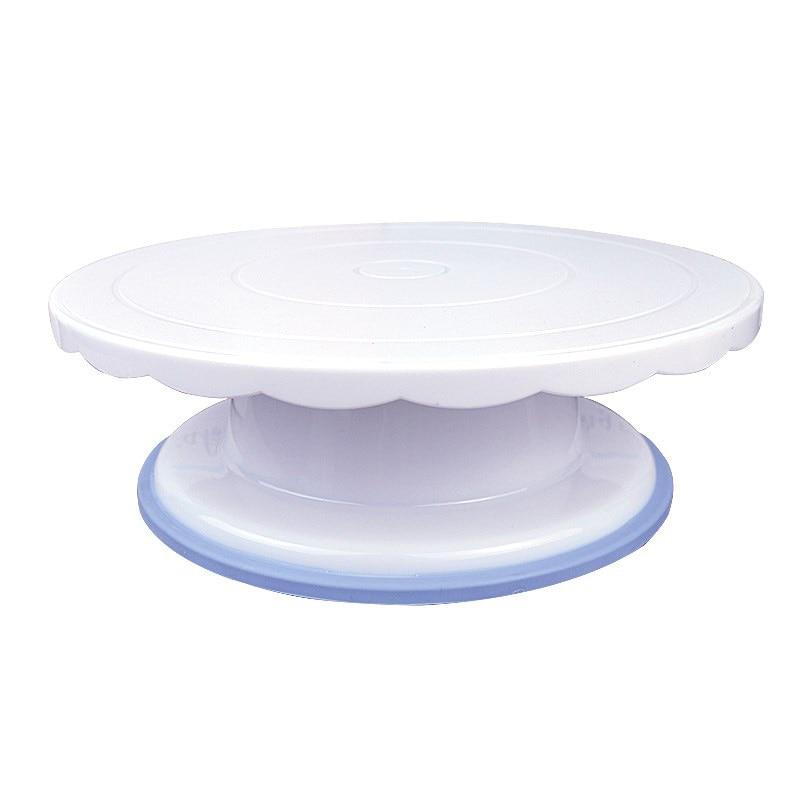 Acheter Rotation Renouvelable Gâteau Platine Décoration Anti dérapage Ronde Table Rotative Outils De Cuisson LBShipping de Plaques tournantes fiable fournisseurs
