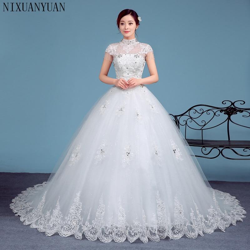Lace Halter Wedding Gown: 2019 Cheap Halter Lace Wedding Dresses Vintage Vestidos De
