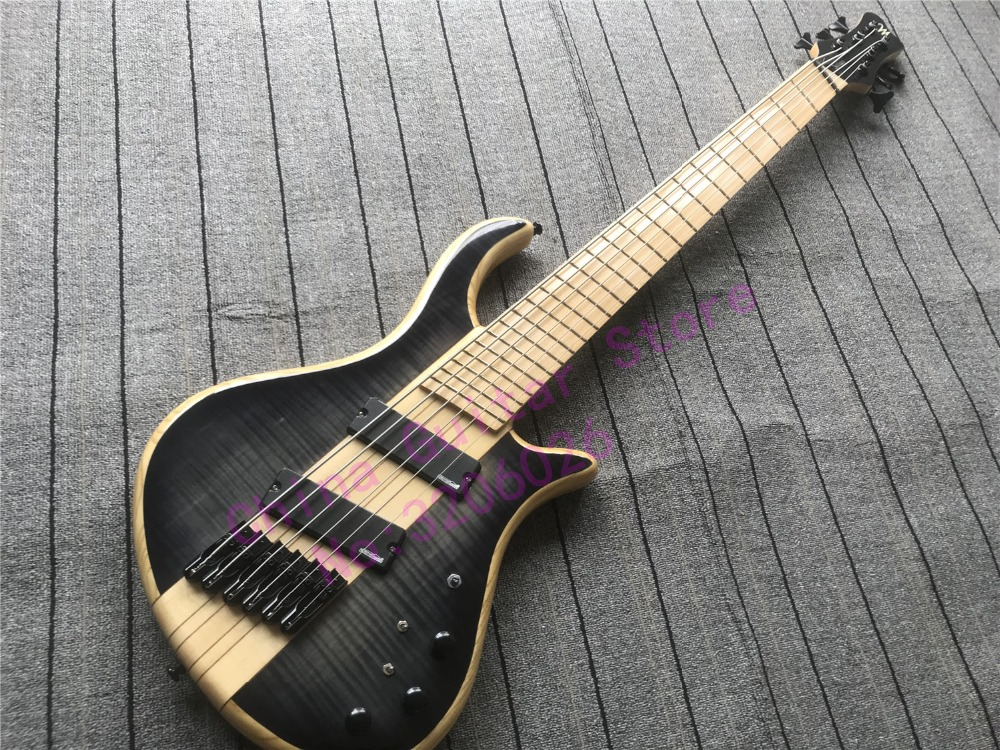 best quality 6 strings setius fanned frets bass guitar multi scaled bass guitar in guitar from. Black Bedroom Furniture Sets. Home Design Ideas