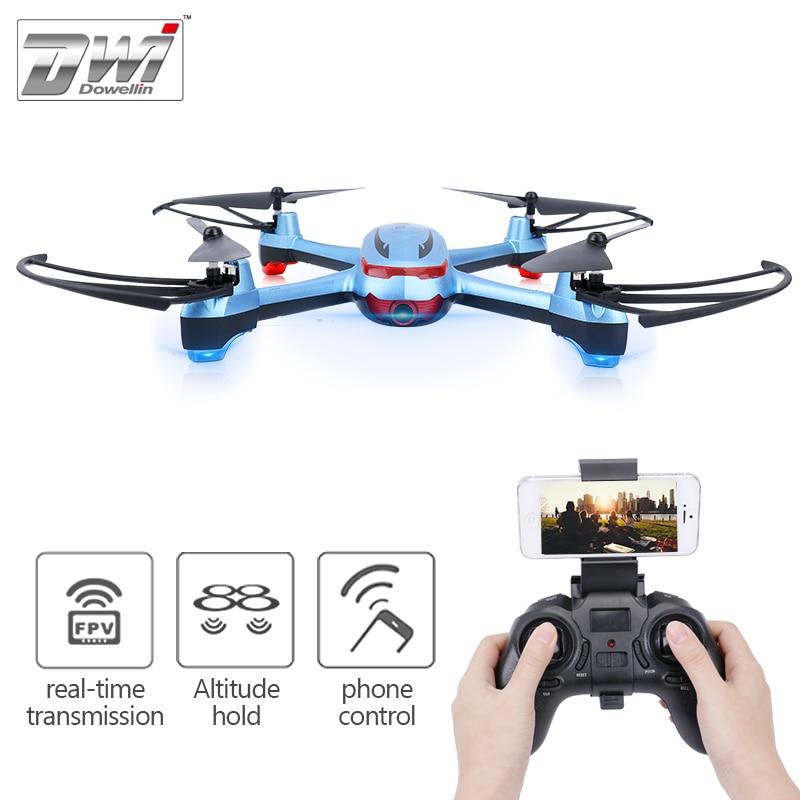 купить RC Quadcopter Drone with Camera HD 2MP 720P Altitude Hold WiFi FPV Drone Phone iPad WiFi Control 120 Degree Wide Angle Lens X20 по цене 4193.3 рублей