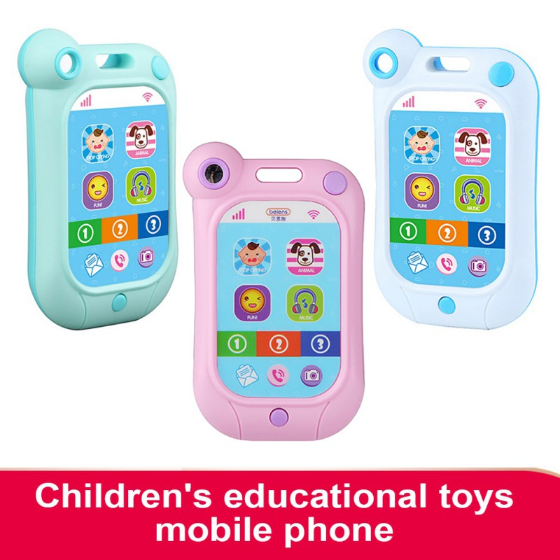 2018 Baby Toys Kids Phone Children Educational Simulation Music Mobile Toy Phone for Child Birthday Gift Toy Phones