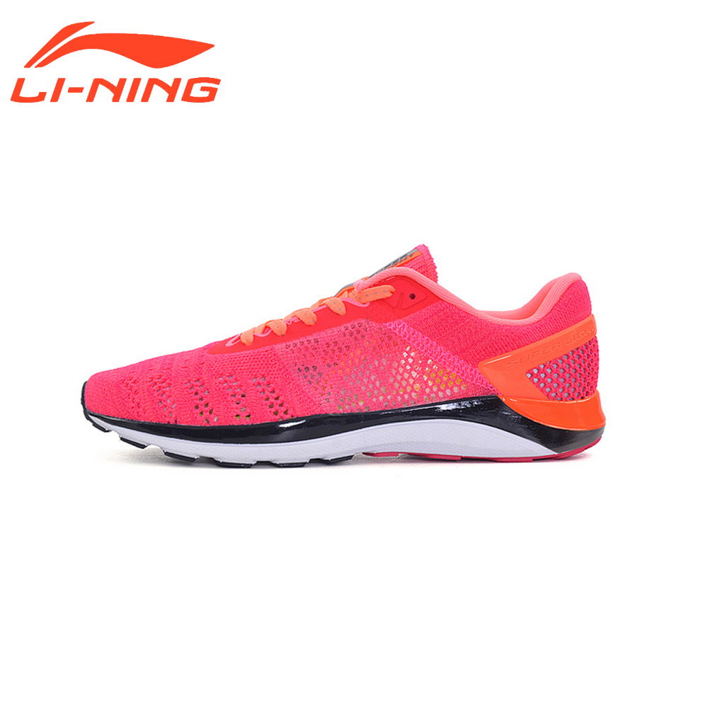 Li-Ning Women Breathable Running Shoes 2017 New Style Brand Original Women Sports Light-Weight Sneakrs LiNing ARBM028 kelme 2016 new children sport running shoes football boots synthetic leather broken nail kids skid wearable shoes breathable 49