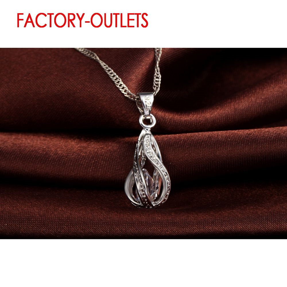 925 Sterling Silver Bridal Jewelry Sets Romantic Style Round CZ Crystal Women Girls Engagement Anniversary Wholesale in Jewelry Sets from Jewelry Accessories