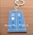 Dr Who Tardis Whovian Phone Booth Call Box policía Doctor Who llavero