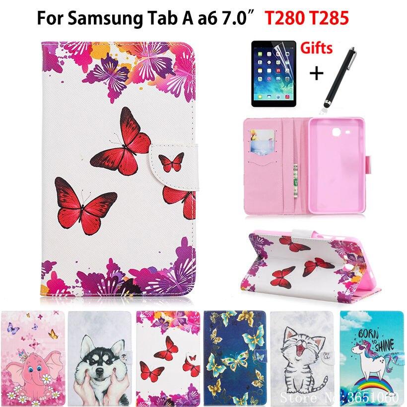Case For Samsung Galaxy Tab A A6 7.0 2016 T280 T285 SM-T285 7.0