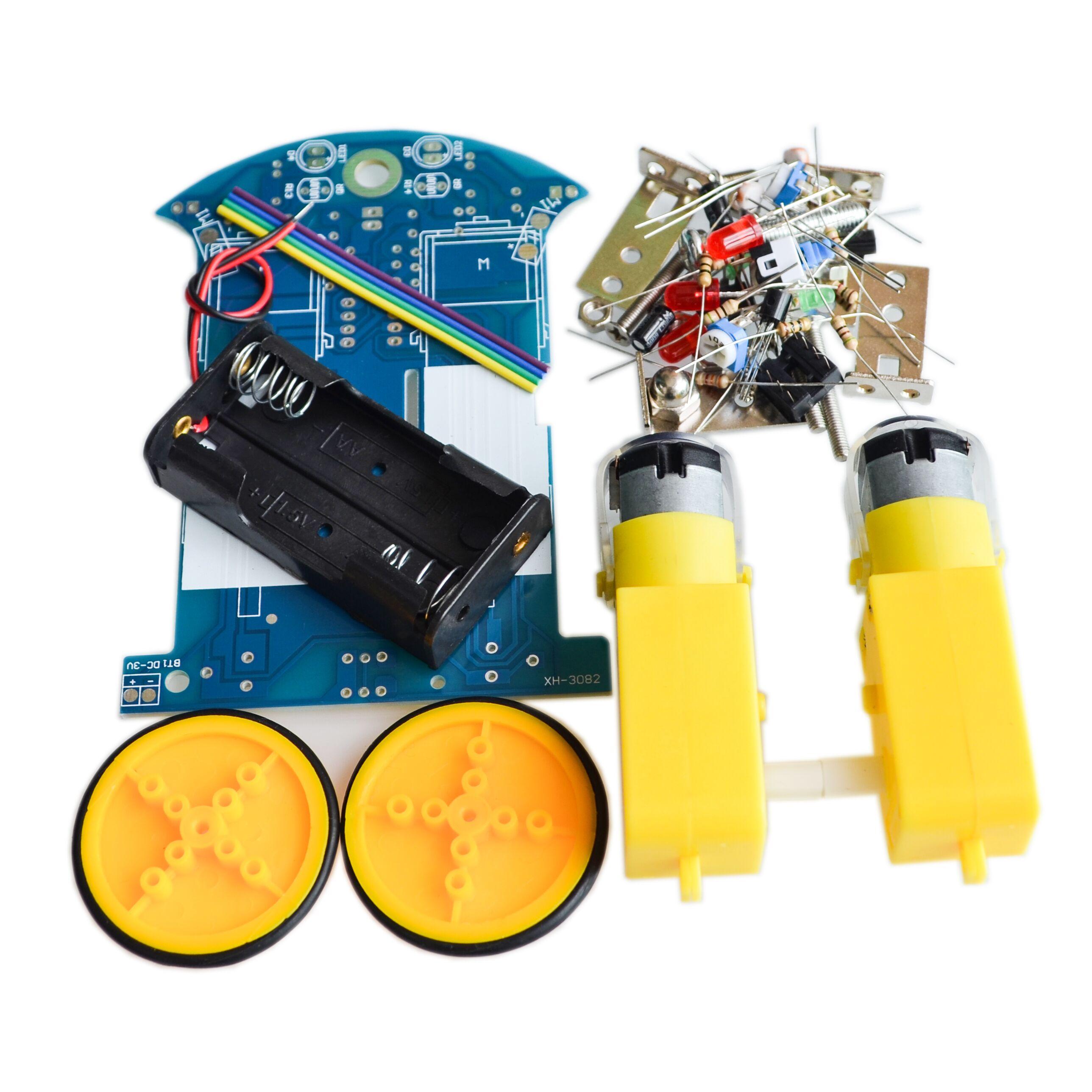 D2-1 diy kit Intelligent tracking the car kit D2-1 patrol car parts Electronic manufacture DIY smart car diy electronic suite