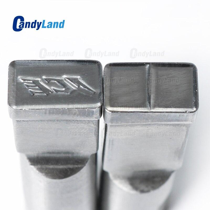 CandyLand ICE Milk Tablet Die 3D Punch Press Mold Candy Tablet Stamper Custom Logo Calcium Tablet
