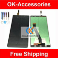 Cor preta para lenovo vibe z k910 lcd display + touch screen digitador assembléia 1 pc/lote