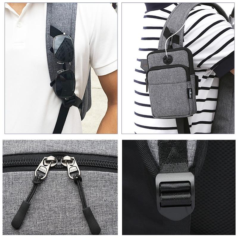 Açıq Kişi İdman Zalı Çantaları Yeniyetmə oğlanlar üçün - İdman çantaları - Fotoqrafiya 4