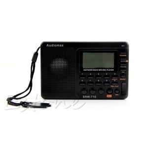 Image 5 - דיגיטלי כוונון LCD מקלט TF MP3 REC נגן נייד AM FM SW מלא להקת רדיו