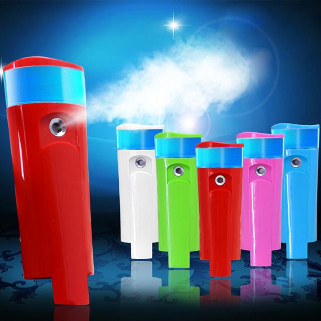 Melhor Tratamento Da Pele Óleo Seco Portátil Névoa Pulverizador Nano Beleza Senhor com Banco De Potência USB Plug Rosto Cuidados Com A Pele