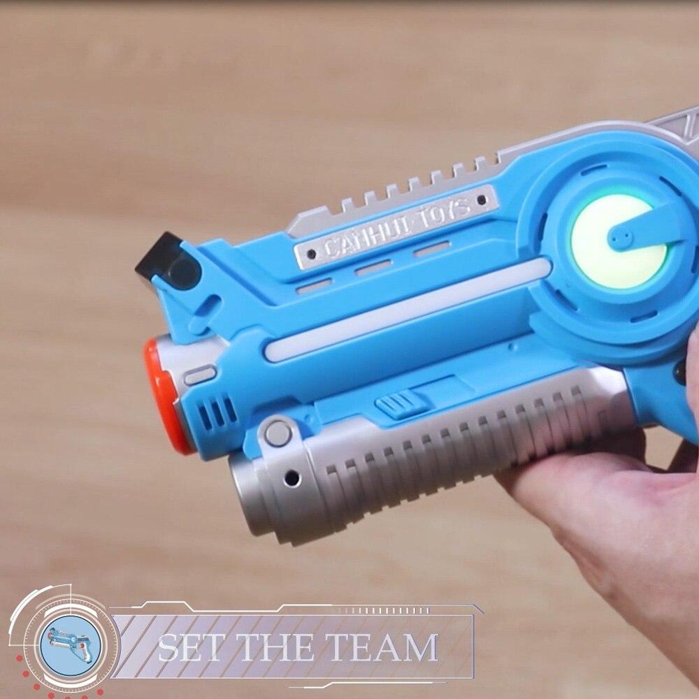 4 pcs Infrarouge Laser Pistolets Blaster Laser Battle Pack Vente Chaude Pistolet Brinquedos pour Enfants Adultes Plaisir En Plein Air & sport Jouet Cadeau - 3