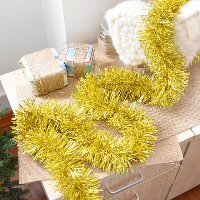 1 pcs 2 meter christmas tree ornaments ribbon home party wedding 1 pcs 2 meter christmas tree ornaments ribbon home party wedding christmas decorations tinsel bar for junglespirit Gallery