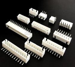 Conector XH2.54 de 2,54mm, 50 Uds., Pin Header XH2.54-2P/3P/4P/5P/6P/7P/8P/9P/10P/11P/14P/aguja curva 16P