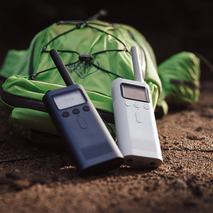 Image 2 - Original Xiaomi Mijia Walkie Talkie 8 Days Standby Bluetooth 4.0 With FM Radio Handfree Talk Smart Phone APP Location Sharing