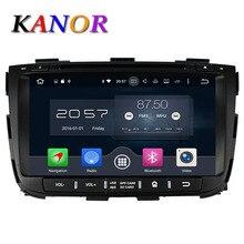 Kanor Octa core Android 6.0 Оперативная память 2 г 32 г Встроенная память для Kia Sorento 2013 dvd-плеер автомобиля GPS Радио WI-FI Bluetooth Географические карты usb аудио