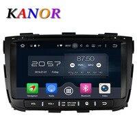 KANOR Octa Core Android 6.0 RAM 2G 32G ROM Voor KIA Sorento 2013 Auto Dvd-speler GPS Radio WIFI Bluetooth Kaart USB Audio