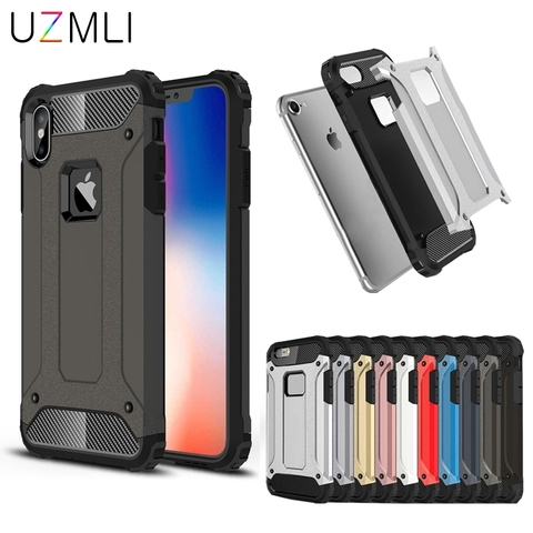 Strong Hybrid Tough Shockproof Armor Phone Back Case For iPhone 11 PRO MAX 2019 XS MAX XR X 8 7 6 6s plus Hard Rugged Cover Pakistan