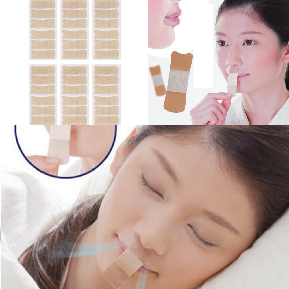 36PC Adult Relieve Snoring Paste Nose Snore Stopping Anti Stickers Kids Anti-snoring Device Close Mouth Sticker  D324