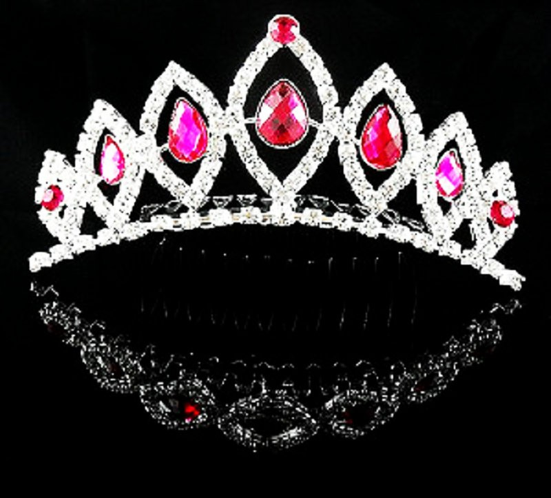 HTB1dCMoMVXXXXbXXXXXq6xXFXXX9 Majestic Prom Pageant Wedding Bride Bridesmaid Jewelry Comb Tiara - 13 Styles