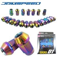 NEO CHROME D1 Spec Lug Nuts Set Of 20PCS 40MM M12x1 5mm JDM Racing Light Weight