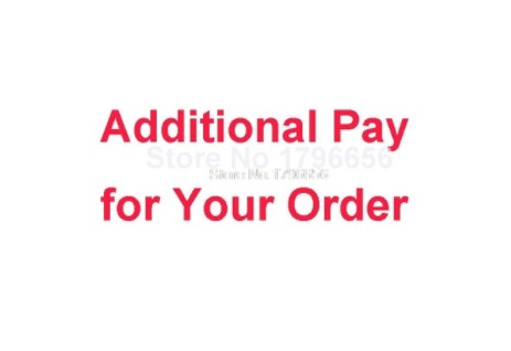 Additional Pay On Your Order 15