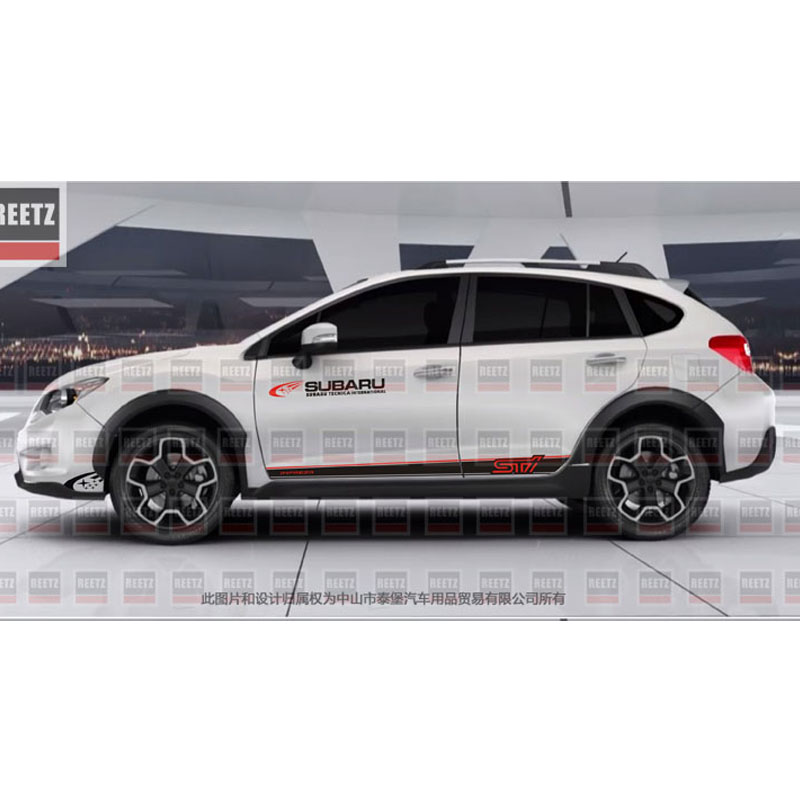 TAIYAO car styling sport autocollant de voiture Pour 2016-2018 Subaru XV Mark Levinson voiture accessoires et stickers auto autocollant