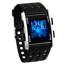 2019 Digital Mens Led Wristwatch Waterproof Electronic Sport watches