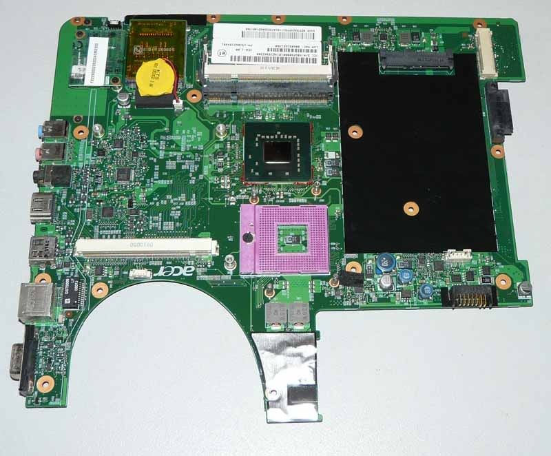 ФОТО MBAPQ0B001 Mainboard For Acer Aspire 6920G laptop motherboard DDR2 ( with video card Slot )