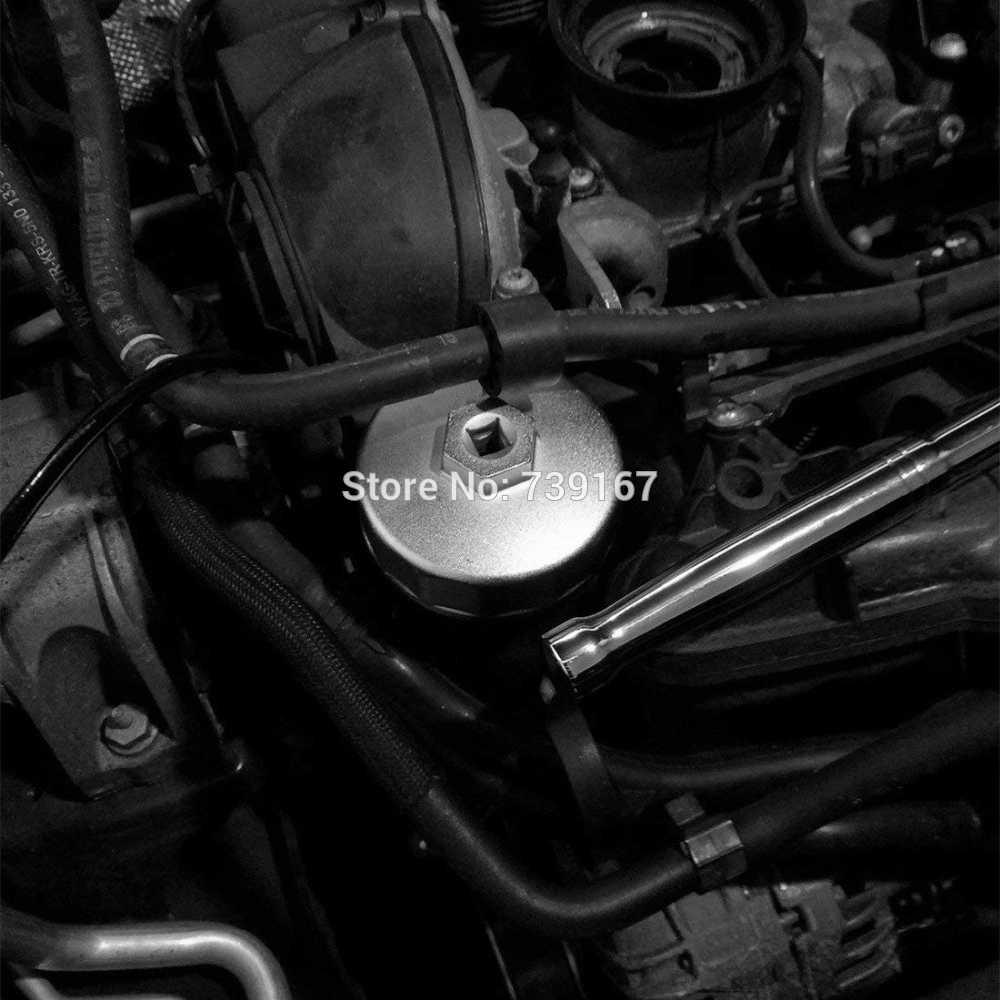 오일 필터 렌치 캡 프리미엄 알루미늄 합금 자동차 손 도구 메르세데스-벤츠 포드 포르쉐 BMW 폭스 바겐 아우디 도요타 마쓰다 ST0269