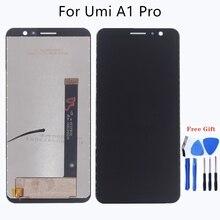 """5,5 """"для UMIDIGI A1 PRO ЖК дисплей дисплей + сенсорный экран сборки для замены частей для UMI A1 PRO ЖК дисплей мониторы бесплатная доставка"""