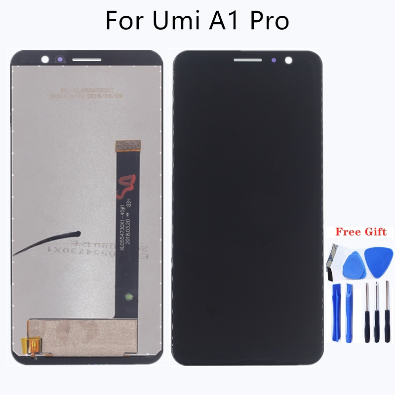"Image 1 - 5.5"" for UMIDIGI A1 PRO LCD display + touch screen assembly for parts replacement for UMI A1 PRO LCD monitors Free shipping-in Mobile Phone LCD Screens from Cellphones & Telecommunications"